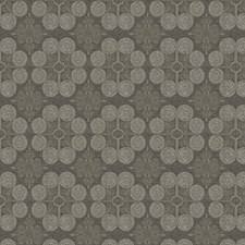 Pewter Medallion Drapery and Upholstery Fabric by Trend