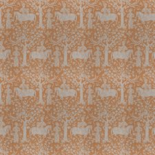 Mustard Seed Animal Drapery and Upholstery Fabric by Vervain