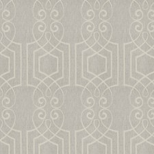 Natural Shimmer Embroidery Drapery and Upholstery Fabric by Fabricut