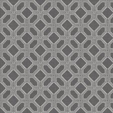 Pewter Embroidery Drapery and Upholstery Fabric by Fabricut