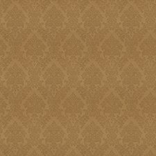 Khaki Damask Drapery and Upholstery Fabric by Trend