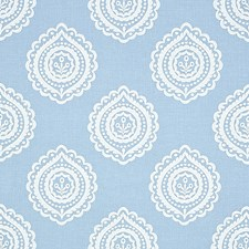 Sky Drapery and Upholstery Fabric by Schumacher
