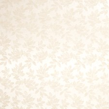 Ivory Leaves Drapery and Upholstery Fabric by Trend