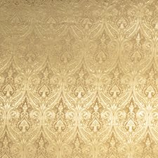 Golden Paisley Drapery and Upholstery Fabric by Trend