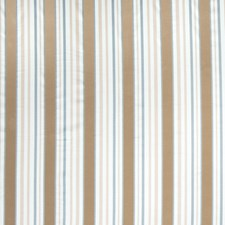 Azure Stripes Drapery and Upholstery Fabric by Trend