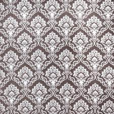 Mink Damask Drapery and Upholstery Fabric by Trend