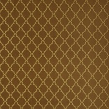 Cognac Lattice Drapery and Upholstery Fabric by Trend
