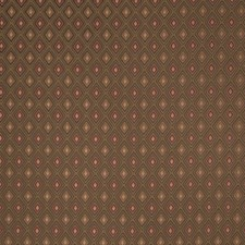Coffee Small Scale Woven Drapery and Upholstery Fabric by Trend