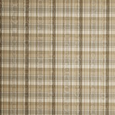 Cafe Check Drapery and Upholstery Fabric by Trend