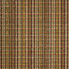 Spice Check Drapery and Upholstery Fabric by Trend