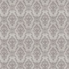 Grey Damask Drapery and Upholstery Fabric by Trend