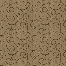 Mocha Jacquard Pattern Drapery and Upholstery Fabric by Trend