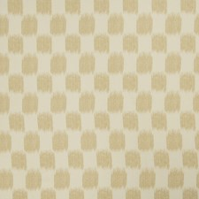 Cashew Flamestitch Drapery and Upholstery Fabric by Trend