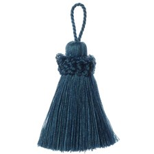 Key Tassel Peacock Trim by Duralee