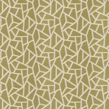 Moss Geometric Drapery and Upholstery Fabric by Fabricut