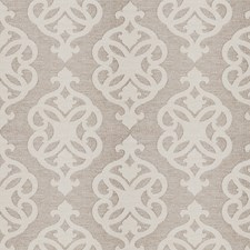 Linen Jacquard Pattern Drapery and Upholstery Fabric by Fabricut