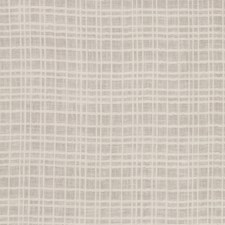 Cream Check Drapery and Upholstery Fabric by Fabricut