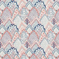Delft/amp/Rose Drapery and Upholstery Fabric by Schumacher