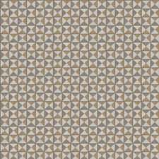 Butterscotch Geometric Drapery and Upholstery Fabric by Fabricut