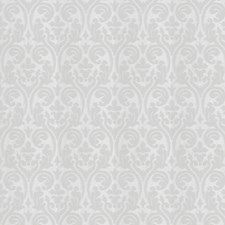 White Damask Drapery and Upholstery Fabric by Fabricut
