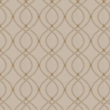 Khaki Embroidery Drapery and Upholstery Fabric by Fabricut