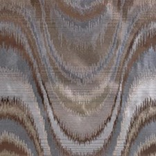 Blue/brown Drapery and Upholstery Fabric by Highland Court