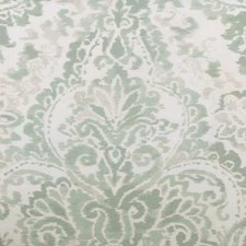 Seaglass Damask Drapery and Upholstery Fabric by Highland Court