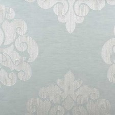 Seafoam Damask Drapery and Upholstery Fabric by Highland Court
