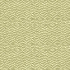 Honey Dew Geometric Drapery and Upholstery Fabric by Brunschwig & Fils