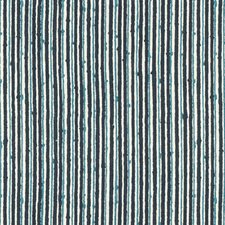 Indigo/Ink Stripes Drapery and Upholstery Fabric by Brunschwig & Fils