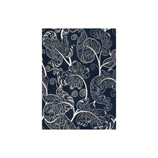 Indigo Jacobeans Drapery and Upholstery Fabric by Brunschwig & Fils
