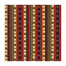 Rouge Stripes Drapery and Upholstery Fabric by Brunschwig & Fils