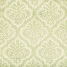 Celery Damask Drapery and Upholstery Fabric by Brunschwig & Fils