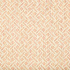 Blush Geometric Drapery and Upholstery Fabric by Brunschwig & Fils