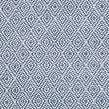 Marine Diamond Drapery and Upholstery Fabric by Brunschwig & Fils