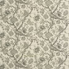 Onyx Toile Drapery and Upholstery Fabric by Brunschwig & Fils