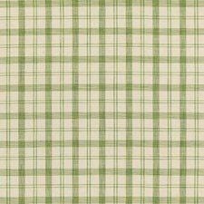 Leaf Plaid Drapery and Upholstery Fabric by Brunschwig & Fils