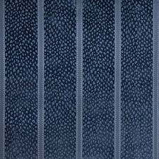 Blue Animal Skins Drapery and Upholstery Fabric by Brunschwig & Fils