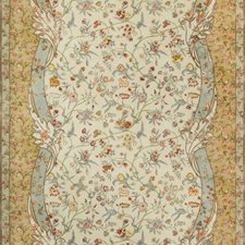 Meadow Botanical Drapery and Upholstery Fabric by Brunschwig & Fils