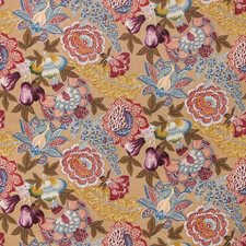 Wheat Botanical Drapery and Upholstery Fabric by Brunschwig & Fils