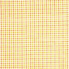 Yellow/Rust Check Drapery and Upholstery Fabric by Kravet