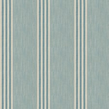 Azure Stripes Drapery and Upholstery Fabric by Stroheim