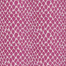 Fuchsia Animal Drapery and Upholstery Fabric by Stroheim