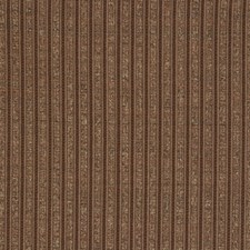 Cocoa Stripes Drapery and Upholstery Fabric by S. Harris