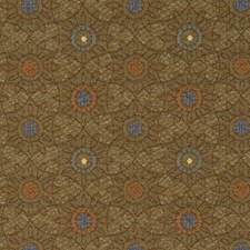 Spruce Jacquard Pattern Drapery and Upholstery Fabric by S. Harris