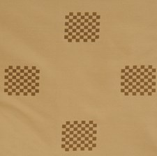 Mocha Check Drapery and Upholstery Fabric by S. Harris