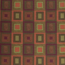 Autumn Check Drapery and Upholstery Fabric by S. Harris