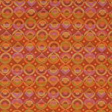 Amberglow Geometric Drapery and Upholstery Fabric by S. Harris