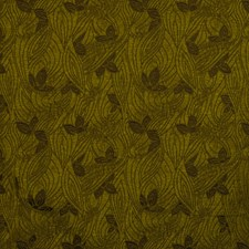 Moss Floral Drapery and Upholstery Fabric by S. Harris