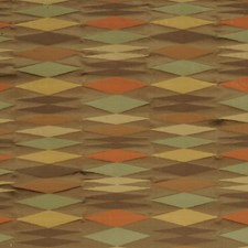 Redwood Geometric Drapery and Upholstery Fabric by S. Harris